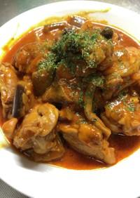 鶏もも肉のトマト煮風〜野菜ジュースで
