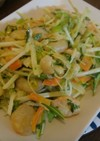 エビマヨ野菜炒め