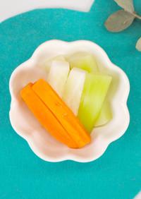 【離乳食後期】野菜スティック