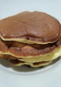 朝ごはんにちゃちゃっと。濃厚♡パンケーキ