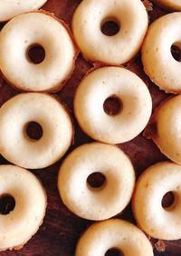 おからと米粉のふわもち焼きドーナツ