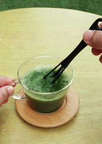 マグ抹茶【ちょい混ぜマドラーで簡単♪】