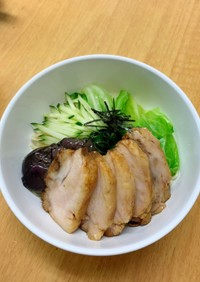 トロトロ煮豚のざるラーメン