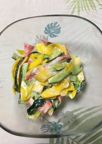 コリンキーのカラフルサラダ