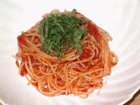 コクのあるトマトソーススパゲティ