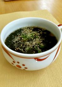 クイック海苔スープ