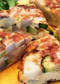 ズッキーニで作るスパニッシュオムレツ