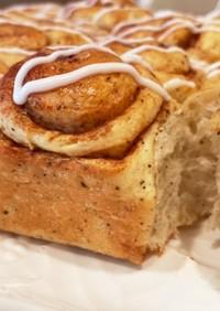 紅茶香る♡シナモンロールちぎりパン
