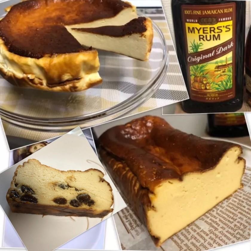ラム香るチーズケーキ(色々実験版)