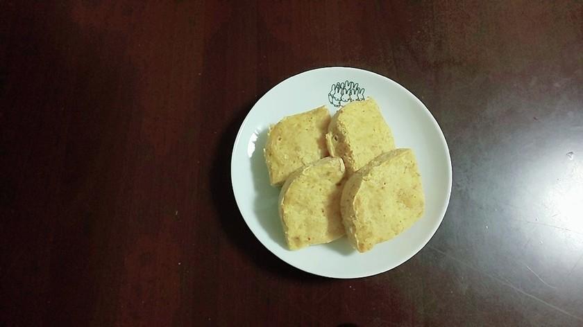 レンジで簡単!オートミール味噌蒸しパン