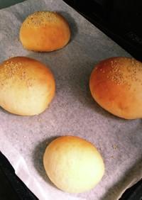 一次発酵までワンボウル!手捏ねパン!