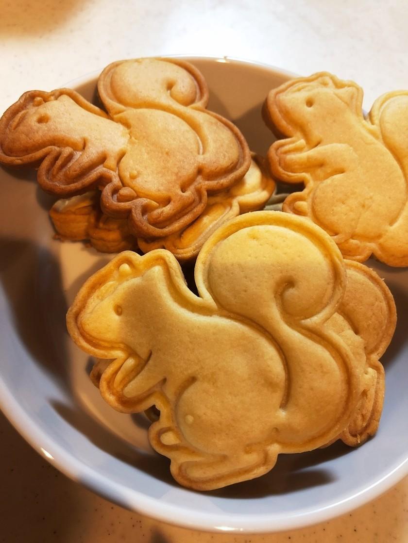 強力粉入り型抜きクッキー