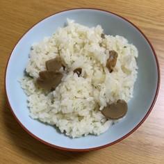 レトルトdeアサリ出汁の炊き込みご飯