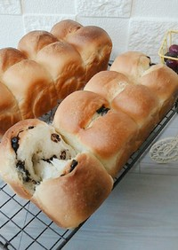 パウンド型で作るミニ食パン