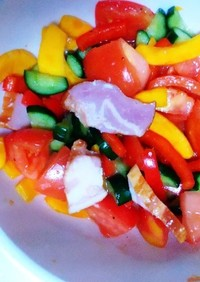コリンキーの夏サラダ