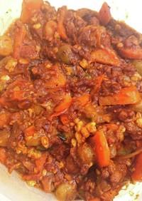 ヘルシー豆腐キーマカレー