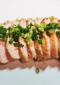 簡単 絶品 焼肉のたれで鶏ハム