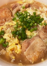 そうめんで台湾麺線風