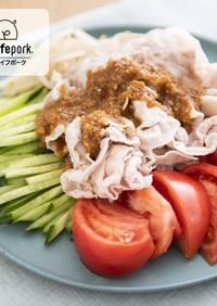 ご飯に合う!冷しゃぶバンバンジー風サラダ