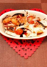 鮭と野菜のオーブン焼き