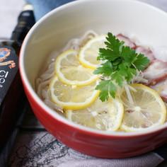 冷え冷え爽やか‼️レモン冷麺✨