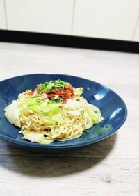 サッポロ一番みそラーメンde辛麺