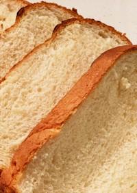 HBでメイプル風味ミルク食パン