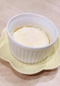 スライスチーズでふわふわチーズケーキ