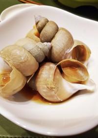 ばい貝や貝類を柔らかく美味しく煮る方法
