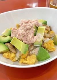 ケト 白菜ツナマヨサラダ