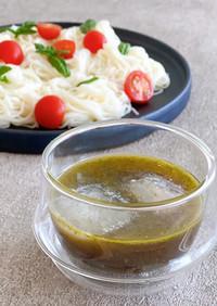 バジルの麺つゆ