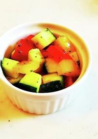 お弁当にも☆カラフル野菜のコロコロソテー