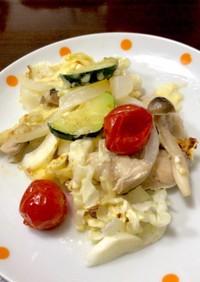 チキンと夏野菜のオーブン焼き