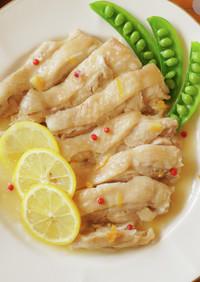 レンジで簡単!鶏肉のさっぱり煮