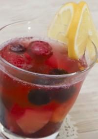 【リデュース】フルーツたっぷりレモネード