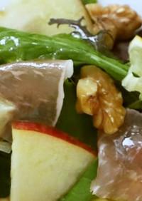 【リデュース】旬のフルーツカラフルサラダ