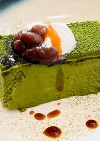 95℃ 濃厚リッチな抹茶のチーズケーキ