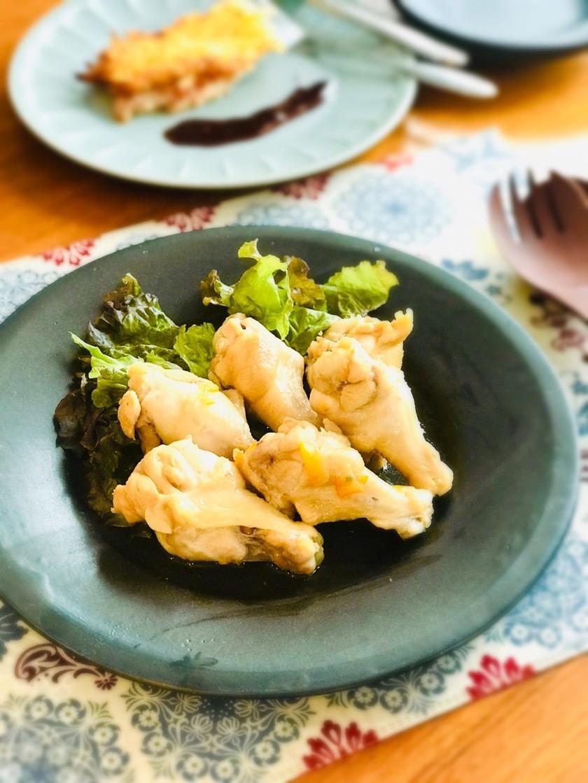 レンジひとつ☆鶏手羽元のマーマレード煮