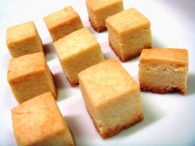 キューブクッキー●柚子胡椒