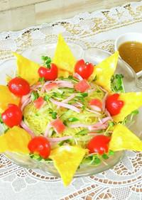 ☆ラーメンサラダ 冷やし中華のタレ
