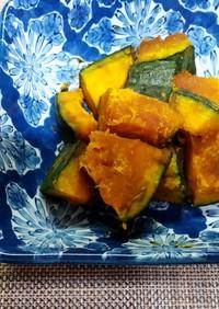 暑いときはレンジでかぼちゃの煮物