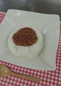 熊谷市立保育所給食で人気「キーマカレー」