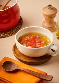 柚子香る♪野菜たっぷりほっこり和風スープ