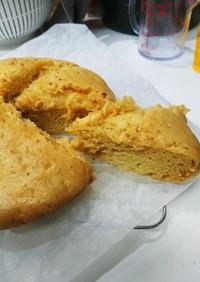 モチフワ蒸しパン(ノンオイルでヘルシー)