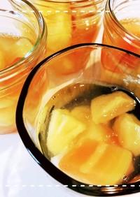 レンジとフルーツ缶で簡単!フルーツゼリー