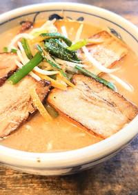 市販ラーメンスープ+煮汁ダシで旨味UP!