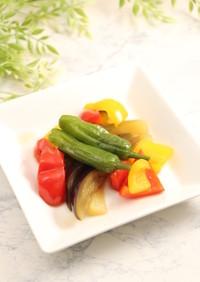 簡単2分!夏野菜の煮びたし