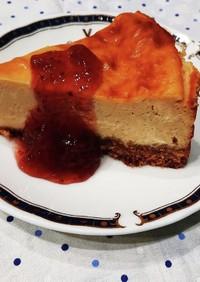 ベイクドチーズケーキ#ギリシャヨーグルト