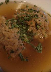 ドイツ料理:レバークヌーデルスープ