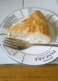 アーモンド香るチーズケーキ